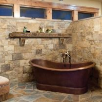 49+ Fraud, Deceptions, And Downright Lies About Bathroom Designs With Stone For Elegant Look Exposed 70