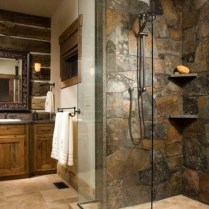 49+ Fraud, Deceptions, And Downright Lies About Bathroom Designs With Stone For Elegant Look Exposed 73