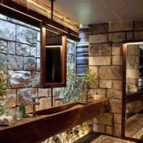 49+ Fraud, Deceptions, And Downright Lies About Bathroom Designs With Stone For Elegant Look Exposed 88