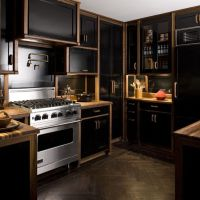 9 Kitchen Inspirations with Black Shades that Give a Luxury Impression