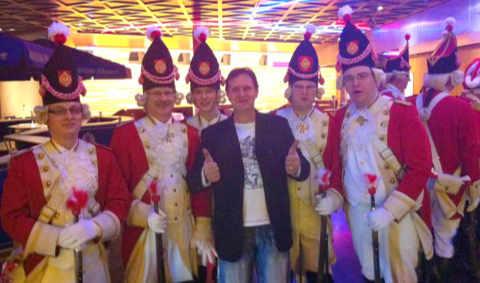 Faschings DJ Lutz beim Karneval Hamburg