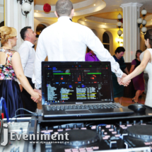 dj fum lumini nunta herculane
