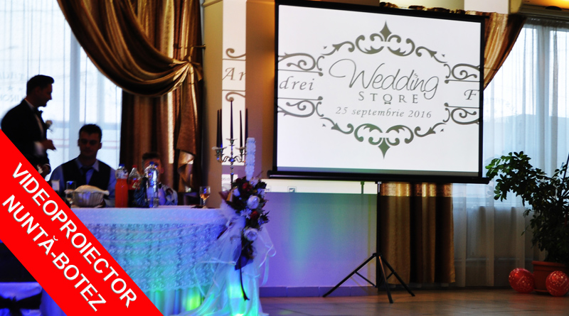 Videoproiector pentru Nunta sau Botez