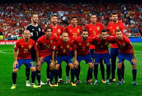 Image result for spain football team 2018