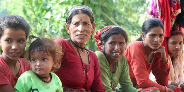 In Punebata, Doti, as in the case across Nepal, many men migrate, leaving women to manage the household as well as fields.