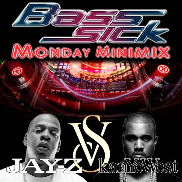 JAY-Z VS Kanye West by DJ Bass Sick