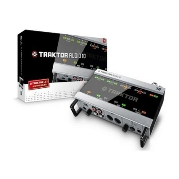 Native Instruments Traktor Audio 10 Interface Review - DJBooth