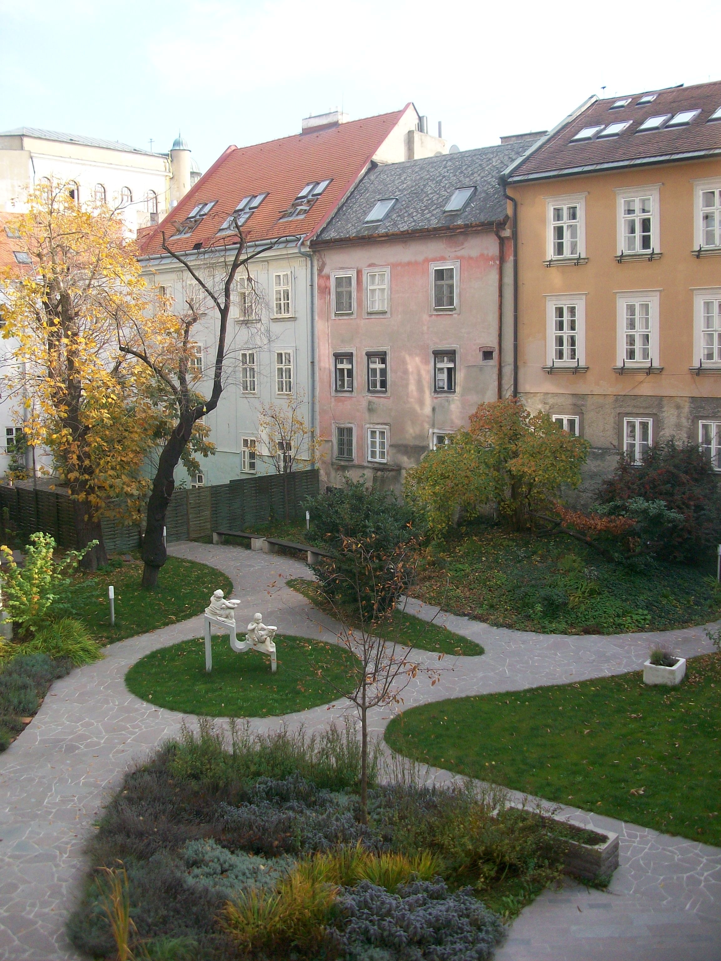 A Courtyard in Bratislava