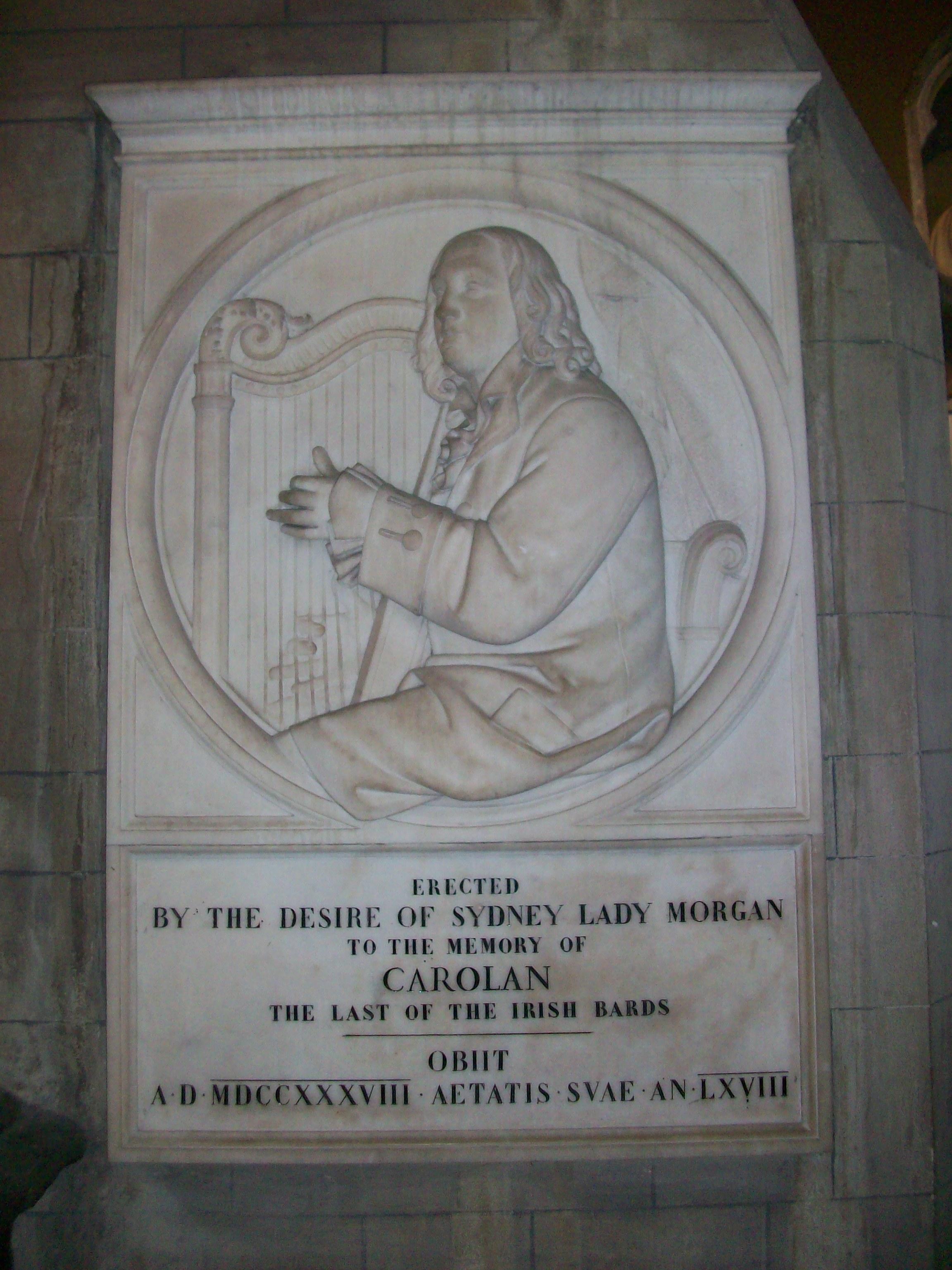 Turlough Carolan memorial