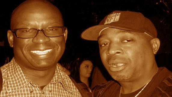 Chuck D and DJ Carl©