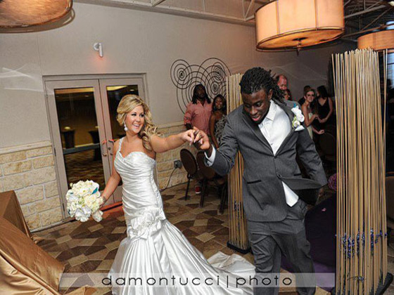 Deji Karim marries MacKenzie Lee Sparks in Jacksonville
