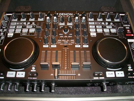 Denon DJ DN-MC6000 DJ mixer and DJ controller is portable