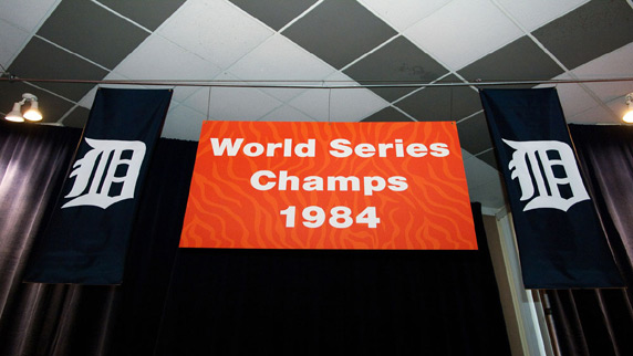 The Detroit Tigers 1984 Champions