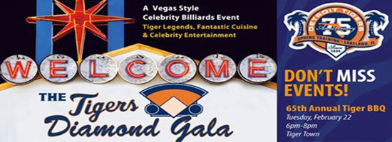 Detroit Tigers event banner