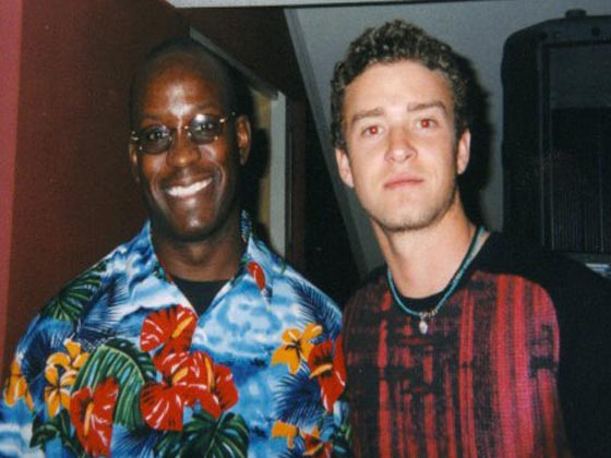 Justin Timberlake with MTV DJ Carl©