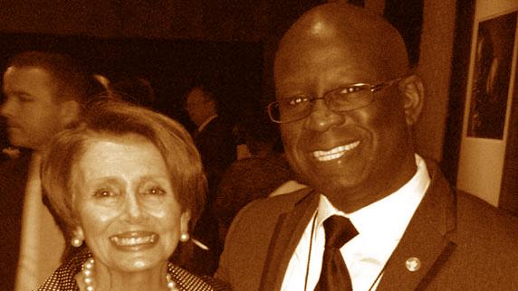 Nancy Pelosi and DJ Carl©