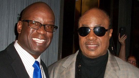 Stevie Wonder and DJ Carl©