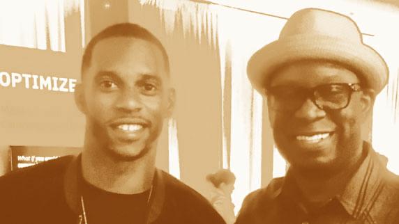Victor Cruz and DJ Carl©