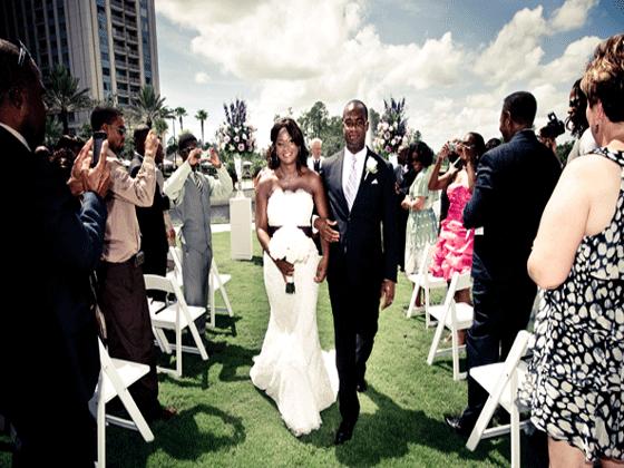 Waldorf Orlando Bride + Groom married