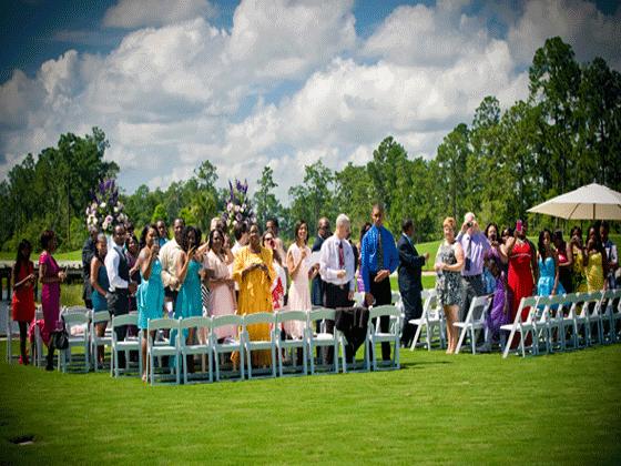 Disney wedding ceremony