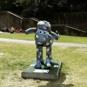 Shaun The Sheep statue, pretty standard in Bristol