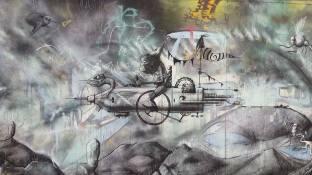 Paul Boswell, Frome's best graffiti dude!