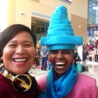 DJing Harlem Hospital Project1Voice Phenomenal Women honoring Ntozake Shange