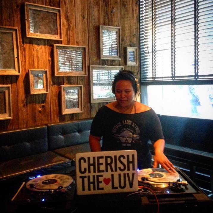 DJing at L'Apicio NYC, for the Fall/Winter Season launch at Heritage Radio Network.