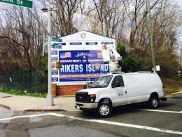 Arriving at Rikers