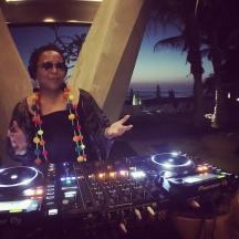 DJing W Hotel, Punta de Mita, Mexico
