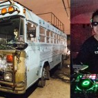 "You needed a party on wheels, right? Well, I got you! I've got a bus with a DJ booth on hand. Contact me to hire my mobile bus party unit. Check my videos page! You definitely need to get yourself an awesome New York experience like this that you and your guests will hashtag ""epic"" forever."