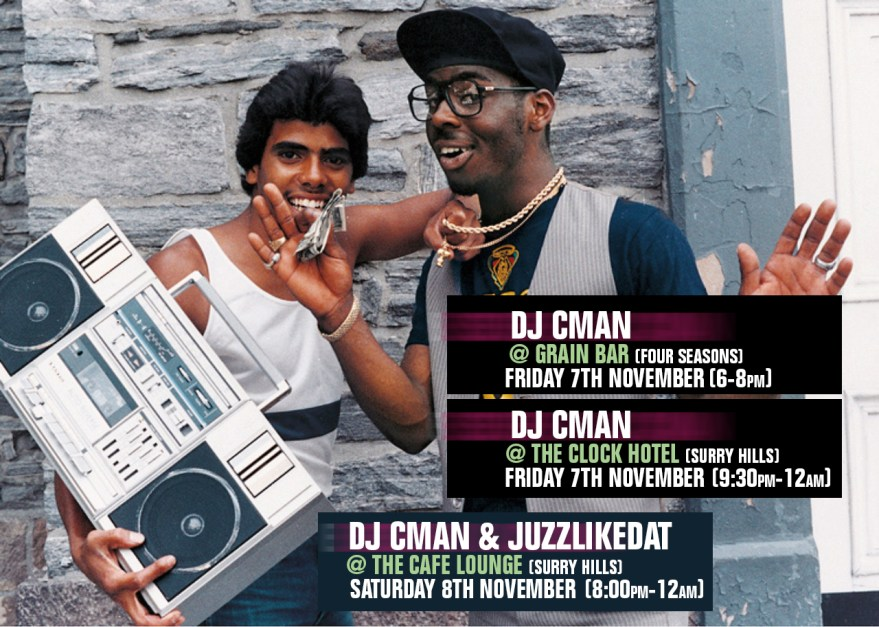 WEEKEND GIGS! 7-8TH NOVEMBER