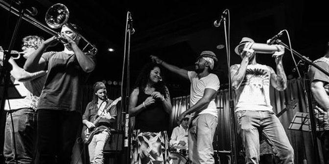 CUMBIAMUFFIN live at THE BASEMENT feat. DJ CMAN + SOUL OF SYDNEY DJ's / Thur 27 Nov 2014 | Tix only $15 | Latin Heat, Afro-Beat & Beyond