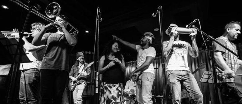 CUMBIAMUFFIN live at THE BASEMENT feat. DJ CMAN + SOUL OF SYDNEY DJ's / Thur 27 Nov 2014   Tix only $15   Latin Heat, Afro-Beat & Beyond