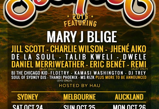 What's the 411? …. SOULFEST 2015!