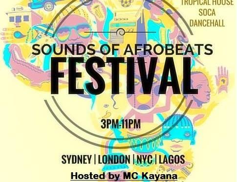 Festival: Sounds of AfroBeats Sydney  // 21st Nov // Soul of Sydney DJs