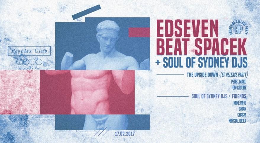 FRI.17.FEB – Edseven & Beat Spacek – Peoples Club (GOODBAR) feat. DJ CMAN