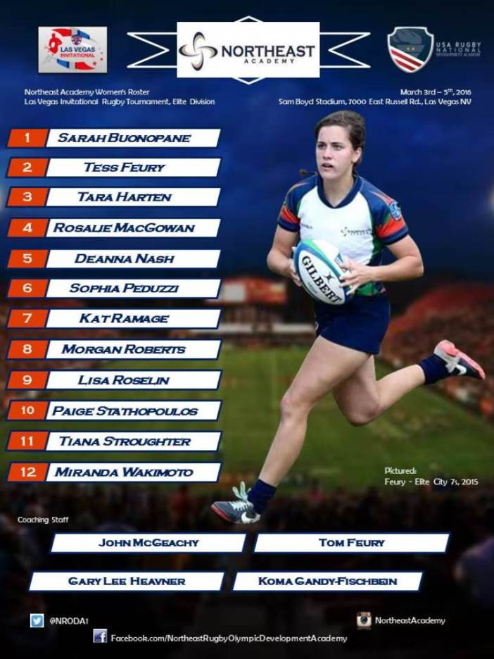 Northeast Academy Women's Poster - LVI 2016