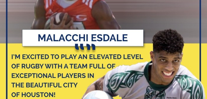 Strikers Rugby Signs Malacchi Esdale