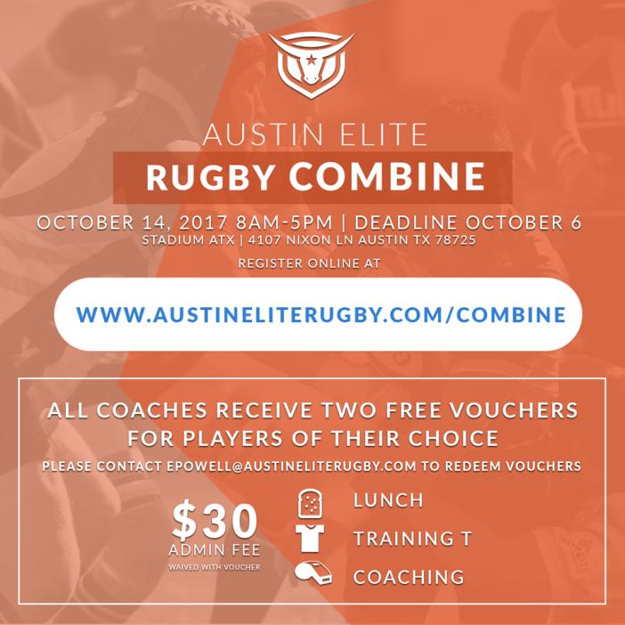 Photo: Austin Elite Rugby - Combine