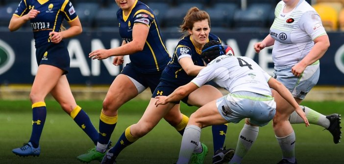 Worcester Valkyries Can't Stop Saracens Women's Packer