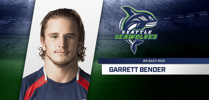 Seattle Seawolves Sign Olympian Garrett Bender