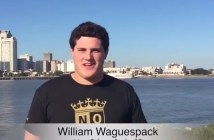 New Orleans Gold Signs William Waguespack