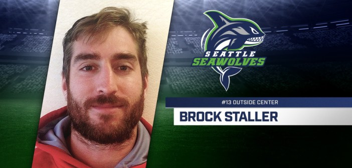 Seattle Seawolves Sign Canada Center Brock Staller