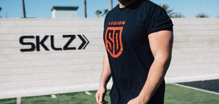 San Diego Legion Sign Eagle Prop Tony Purpura