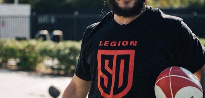 San Diego Legion & Mike Te'o