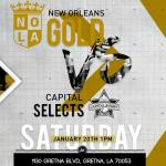 New Orleans Gold vs. Capital Selects Preview