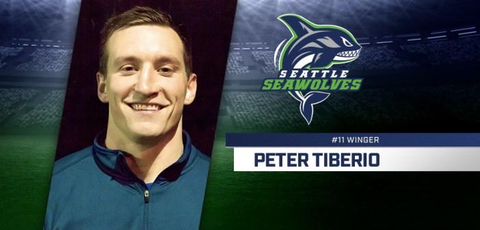 Seattle Seawolves Sign Peter Tiberio