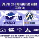 Boston Mystic Rugby Host Ontario Arrows