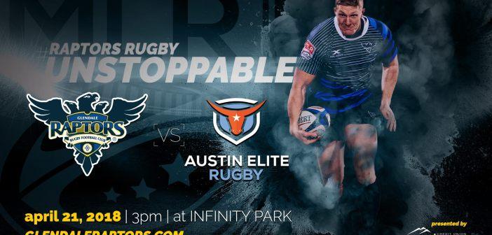 Glendale Raptors Open MLR Season Against Austin Elite Rugby